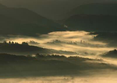 vallée dans la brume © Domnique Talvard