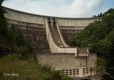 Vue du barrage de Bort-les-Orgues © Chris Bogaerts
