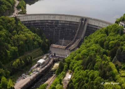 Vue du barrage de Bort © Chris Bogaerts