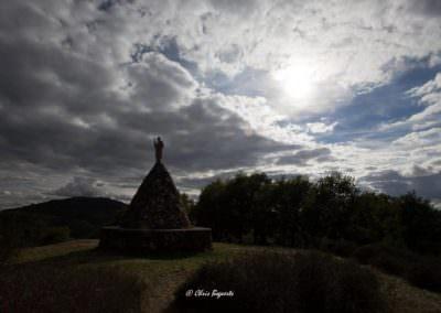 Vue du site de Saint Nazaire à Saint-Julien-Près-Bort © Chris Bogaerts