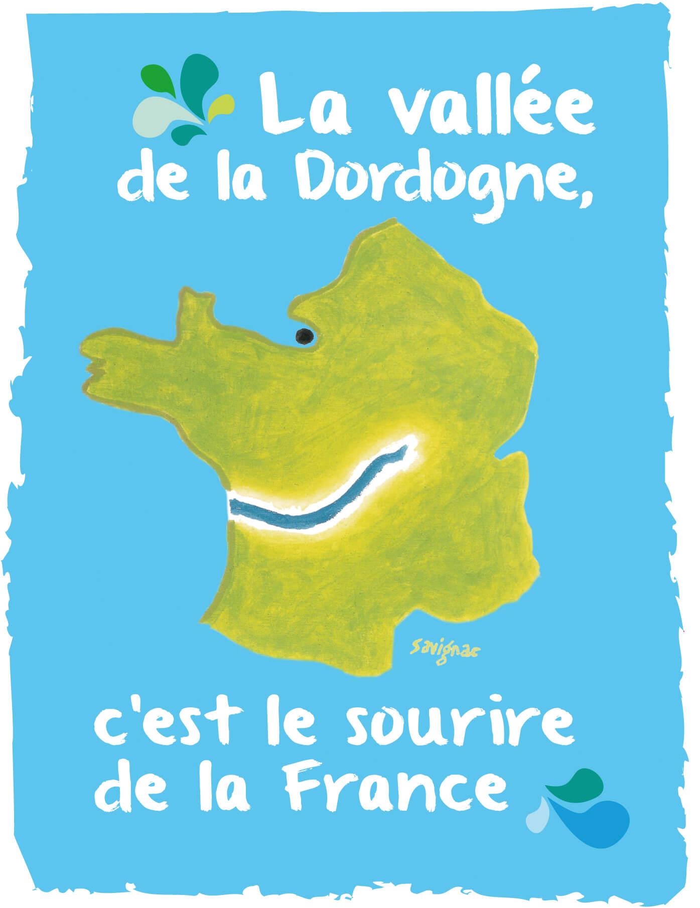 logo Dordogne sourire de la France
