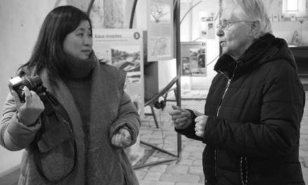 La transmission de la mémoire du barrage de Bort-les-Orgues, visite d'un chercheur japonais